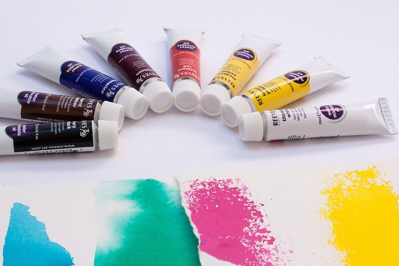 What Is Acrylic Paint How To Use It On Paper Canvas And